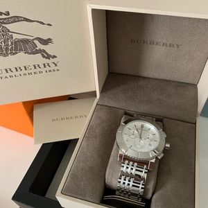 Men's Burberry Chronograph Trench Watch